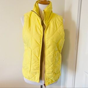 Sunshine Yellow, Puffer Vest